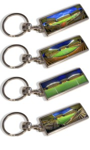 Panoramic Keyrings